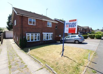 Thumbnail 2 bed semi-detached house for sale in Churchill Avenue, Cheddleton, Staffordshire