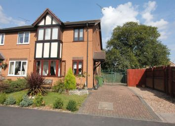 Thumbnail 3 bedroom semi-detached house for sale in Ellison Close, Stoney Stanton, Leicester
