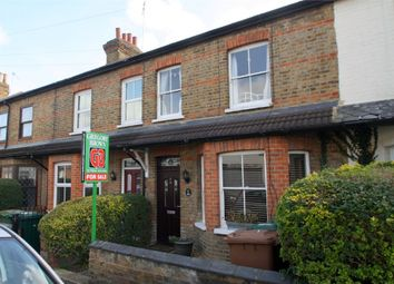 Thumbnail 3 bedroom terraced house for sale in Edgell Road, Staines-Upon-Thames, Surrey