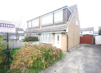 Thumbnail 3 bed semi-detached house for sale in Layton Road, Ashton-On-Ribble, Preston