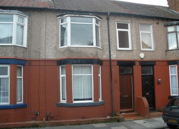 Thumbnail 3 bed terraced house for sale in Collingwood Road, Bebington, Wirral
