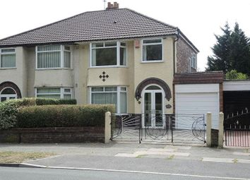 Thumbnail 3 bed semi-detached house for sale in Meadow Lane, West Derby, Liverpool
