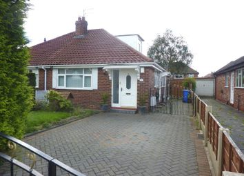 Thumbnail 2 bedroom semi-detached bungalow to rent in Sherwood Road, Dane Bank, Denton