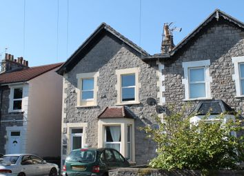 Thumbnail 1 bedroom flat to rent in Clarendon Road, Weston-Super-Mare, North Somerset