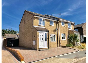 Thumbnail 3 bed semi-detached house for sale in Newark Close, Ipswich