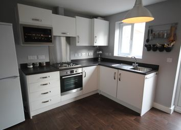 Thumbnail 3 bed town house to rent in Salford Way, Church Gresley, Swadlincote