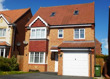 Thumbnail 5 bed detached house to rent in Dewberry Close, Hartlepool