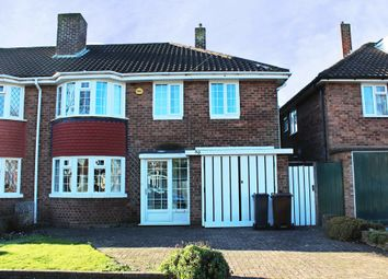 Thumbnail 4 bed semi-detached house to rent in Portia Avenue, Shirley, Solihull