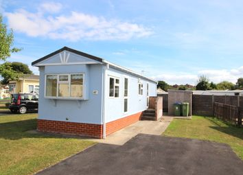 Thumbnail 2 bedroom mobile/park home for sale in Dibles Park, Dibles Road, Warsash, Southampton