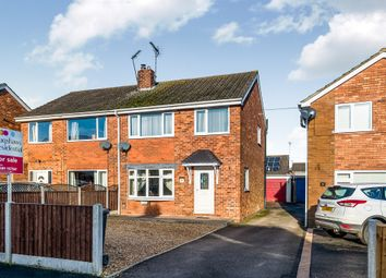 Thumbnail 3 bed semi-detached house for sale in Shipton Drive, Uttoxeter