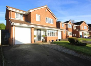 Thumbnail 4 bed detached house for sale in Keld Avenue, Stafford