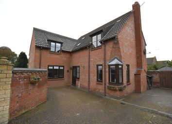 Thumbnail 4 bed detached house for sale in The Paddocks, Folksworth