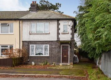 Thumbnail 2 bed end terrace house for sale in Regent Street, Oadby, Leicester