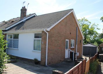 Thumbnail 2 bed semi-detached bungalow for sale in Hill Top Rise, Harrogate