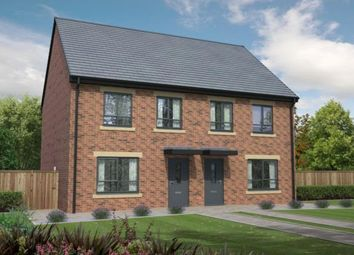 Thumbnail 3 bed semi-detached house for sale in Thirteen Homes, Edward Pease Way, Darlington, England