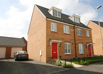 Thumbnail 3 bed property to rent in Dragonfly Way, Northampton