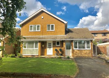 Thumbnail 3 bed detached house for sale in Whitwell Close, Oundle, Peterborough