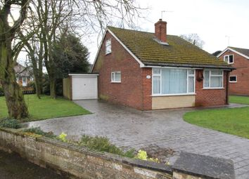 Thumbnail 3 bed bungalow for sale in Leamington Road, Branston, Burton-On-Trent