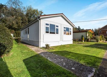 Thumbnail Mobile/park home for sale in Hillview Park Home Estate, Oare, Marlborough