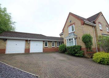 Thumbnail 4 bed detached house for sale in Fiennes Road, Dussindale, Norwich