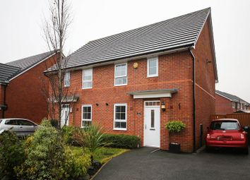 Thumbnail 3 bed semi-detached house for sale in Findley Cook Road, Highfield, Wigan