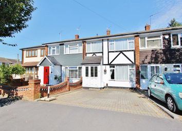Thumbnail 3 bed terraced house to rent in Navarre Gardens, Collier Row, Romford