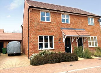 Thumbnail 3 bed semi-detached house for sale in Teasel Bank, Harwell, Didcot