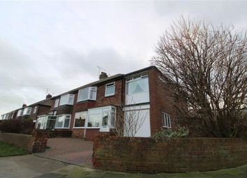 Thumbnail 4 bed semi-detached house for sale in Sandringham Drive, Whitley Bay