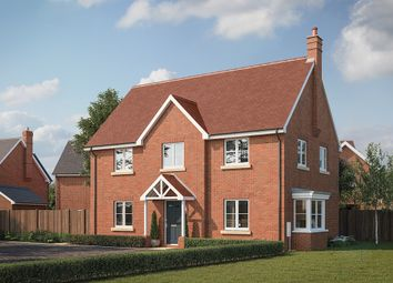 "Thumbnail 4 bed property for sale in ""The Somerton"" at Buckingham Road, Steeple Claydon, Buckingham"
