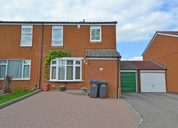 Thumbnail 3 bed end terrace house for sale in Dartmoor Close, Rednal, Birmingham