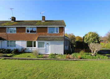 Thumbnail 4 bed end terrace house for sale in Scott Close, Kings Somborne, Stockbridge, Hampshire