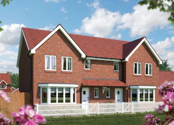 "Thumbnail 3 bedroom semi-detached house for sale in ""The Ewell"" at Church Road, Bishopstoke, Eastleigh"