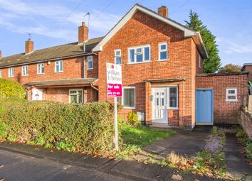 Thumbnail 2 bed end terrace house for sale in College Road, Whetstone, Leicester
