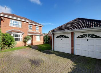 Thumbnail 4 bed detached house for sale in Oak Tree Drive, Cutnall Green, Droitwich, Worcestershire