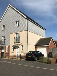 Thumbnail 3 bedroom town house to rent in Skylark Way, Stowmarket