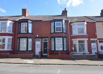 Thumbnail 3 bed terraced house to rent in Bankville Road, Tranmere, Birkenhead