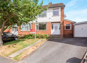 Thumbnail 3 bed semi-detached house for sale in Kent Drive, Oadby, Leicester