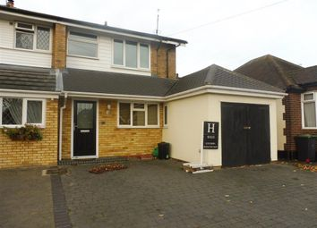 Thumbnail 3 bed semi-detached house to rent in North Crescent, Southend-On-Sea