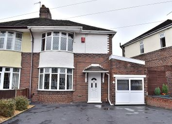 Thumbnail 3 bed semi-detached house for sale in Grove Avenue, Heron Cross, Stoke On Trent