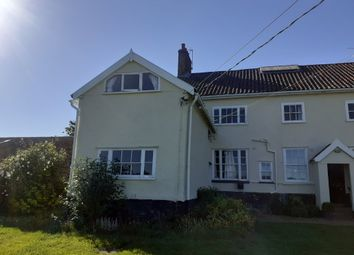 Thumbnail 3 bed semi-detached house to rent in Fen Road, Redgrave