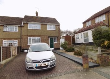 Thumbnail 3 bed semi-detached house for sale in Stanwyck Gardens, Romford, Essex
