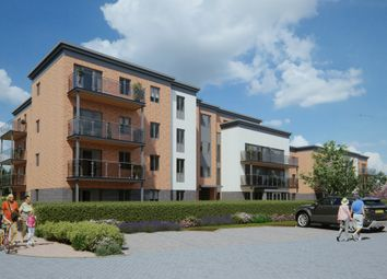 Thumbnail 2 bed flat for sale in Ilex Close, Llanishen, Cardiff