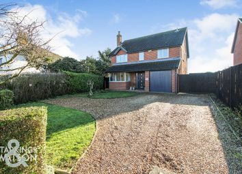 Thumbnail 4 bed detached house for sale in High Road, Wortwell, Harleston