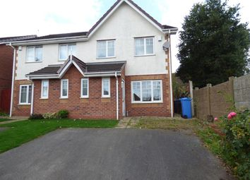 Thumbnail 3 bedroom semi-detached house to rent in Regent Park, Huyton, Liverpool
