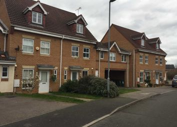 Thumbnail 3 bed town house to rent in Marshall Close, Thorpe Astley, Braunstone, Leicester