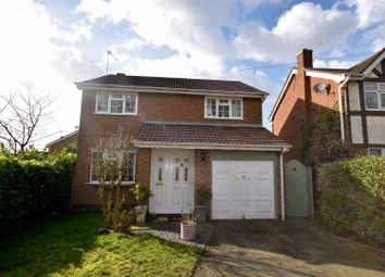 Thumbnail 4 bedroom detached house for sale in Bloom Close, Ravenstone, Coalville