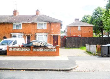 Thumbnail 3 bed end terrace house for sale in Derwent Road, Birmingham