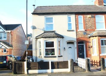 Thumbnail 3 bed end terrace house for sale in Devonshire Road, Broadheath, Altrincham