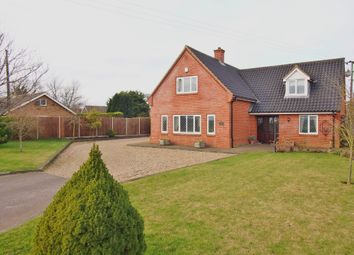 Thumbnail 4 bed detached house for sale in High Oak Road, Wicklewood, Wymondham