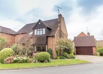 Thumbnail 4 bedroom detached house for sale in The Hawthorns, Charvil, Reading